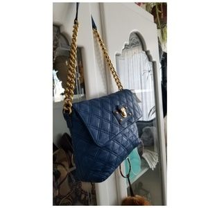 Marc Jacobs quilted gold chain purse